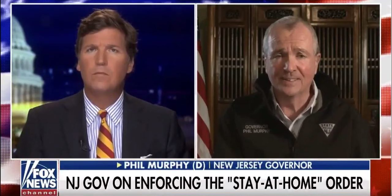 NJ Gov Phil Murphy On Enforcing The Stay At Home Order And Bypassing The Bill Of Rights