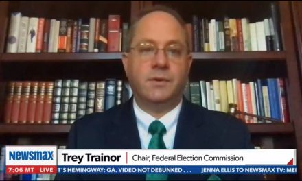 Chairman of the Federal Election Commission Trey Trainor insists that Trump not concede